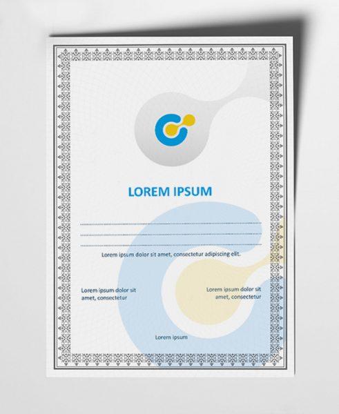 Diplomai, sertifikatai, padėkos spausdinimas