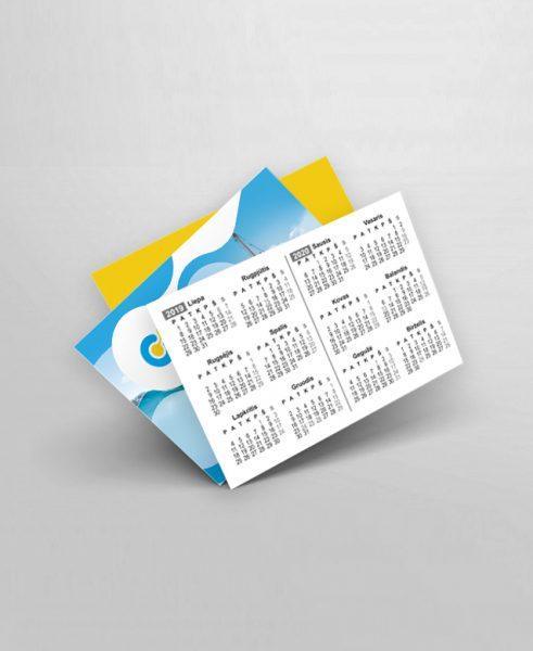 Kišeninis kalendoriukas spausdinimas