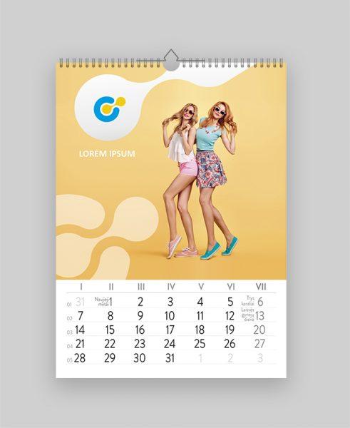 Kalendorius su nuotraukomis