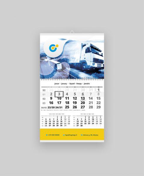 Sieninis vienos dalies kalendorius