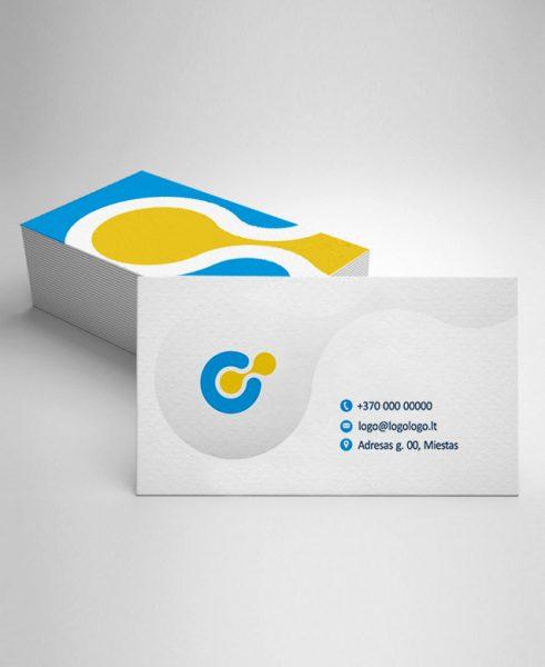 Vizitinių kortelių gamyba Klaipėdije