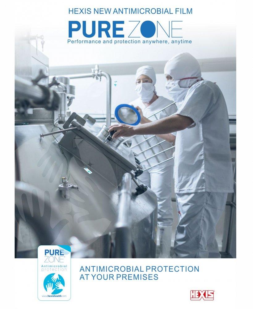 Antibakterinė plėvelė